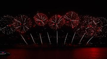 22日晚, 长沙夜空惊艳了世界