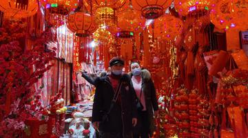 春节将至 重庆年货市场人气爆满