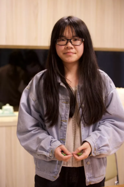 陈锦萍,阳光学院人文与传播学院,2017级文化产业管理专业,本期最佳手工艺学员。