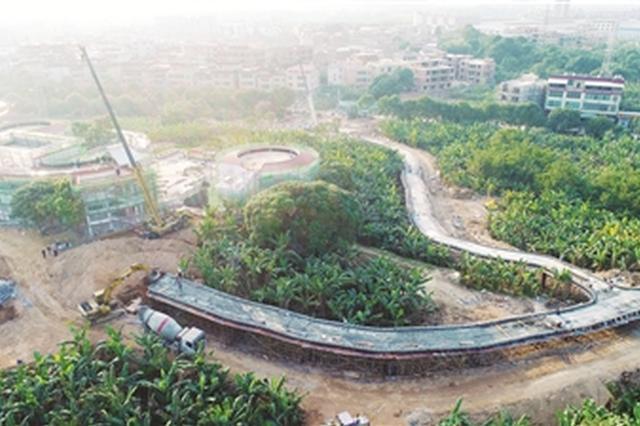 漳州:香蕉海景观提升工程预计元旦前可向游客开放