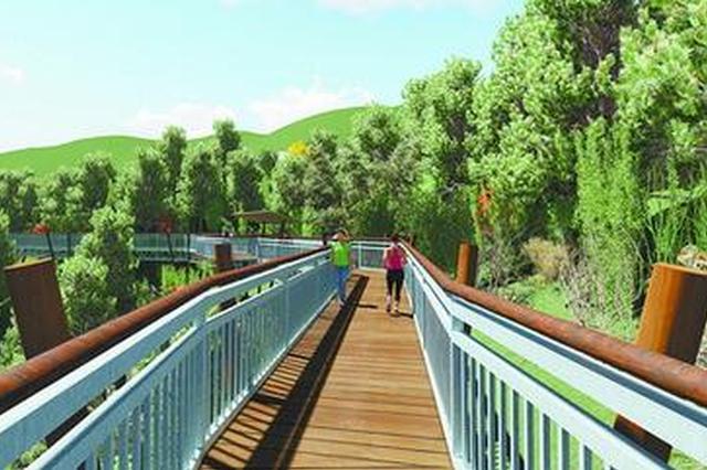仙岳公园新添空中观景栈道 可俯瞰筼筜湖畔景观