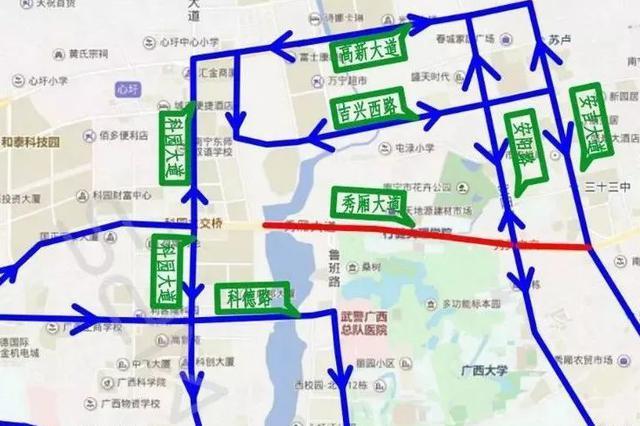 南宁5座立交工期定啦!这些路段将被围挡施工近7个月