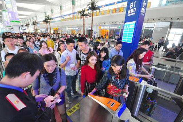 大年初三广西铁路客流预计增长25% 旅游客流为主