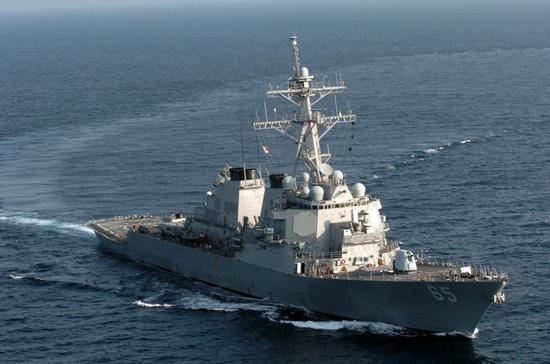 美国两艘军舰今日再闯中国南沙美济礁12海里