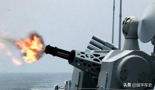 我军万发炮成055大驱贴身近卫 可拦截2倍音速反舰弹