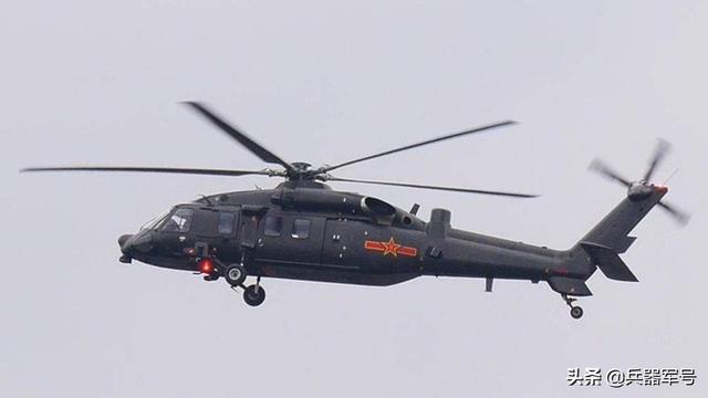 我军直20直升机机动性远超黑鹰:发动机功率高出20%