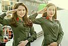 越南女兵美艳图