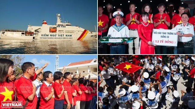 臭不要脸!越南考察团登上中国南沙14个岛礁挑衅