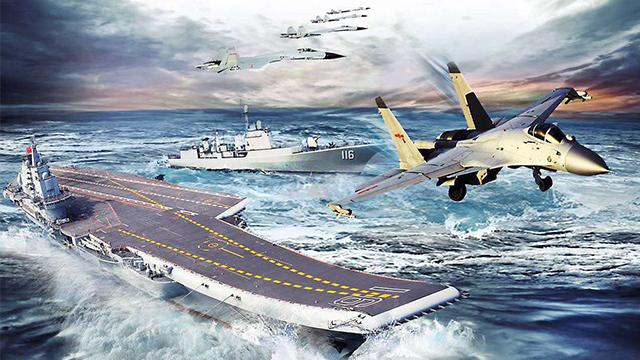 辽宁号航空母舰高清霸气壁纸