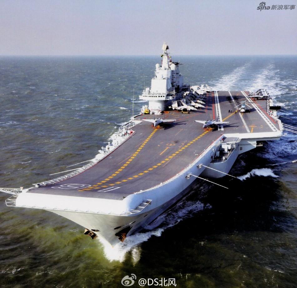 张召忠点评中国海上阅兵:不久就会出现三航母同框