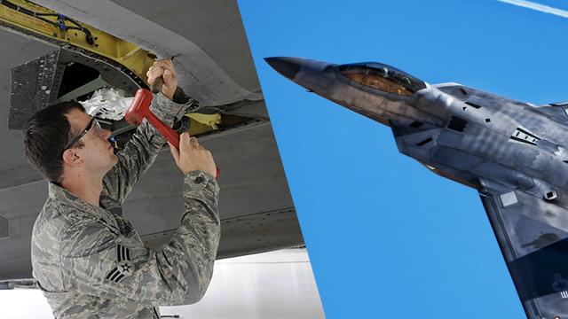美军F22战机隐身涂料竟是用银做!用完还能炼银