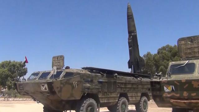 早有这玩意还会内战? 叙政府军曝光可载核弹头导弹