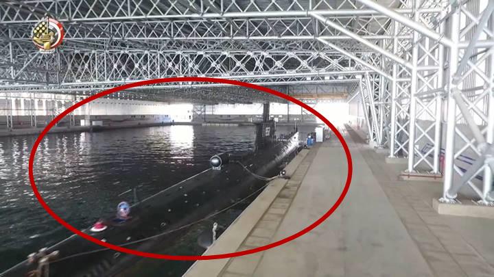 埃及建造中东最大潜艇基地 存有中国造潜艇