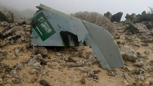 怨飞机烂还是王爷军太水?沙特1架台风在也门坠毁