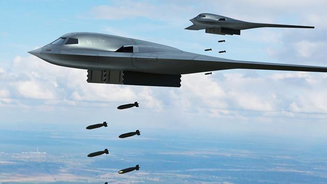 飞翼式布局?网友绘我军轰20隐身轰炸机假想图