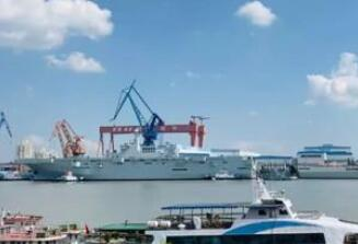 中国建造075两栖攻击舰坞内工期仅9个月 秘诀都在这