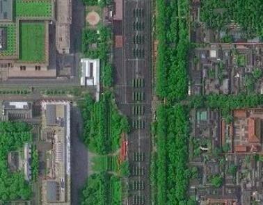 多颗国产卫星太空中瞰阅兵 武器装备清晰可见(图)