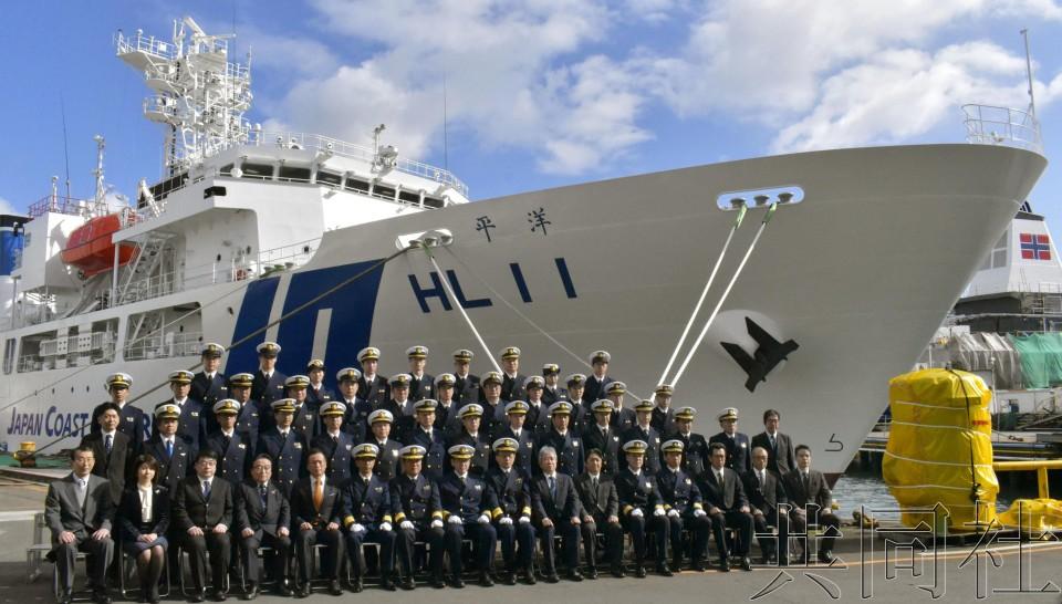 日本4000吨级测量船交付 将用于调查东海海底地形