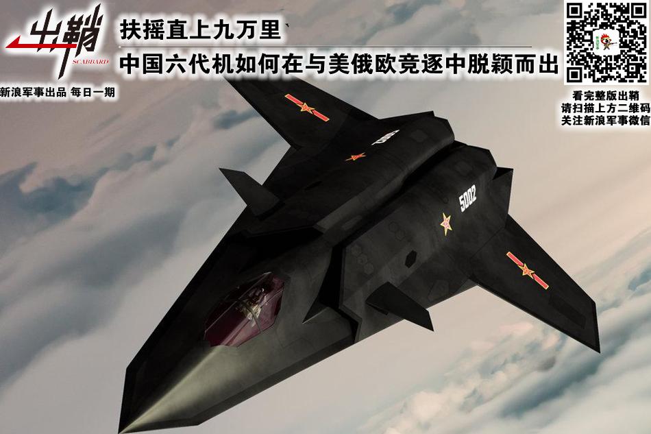 中国与美俄欧竞逐六代机