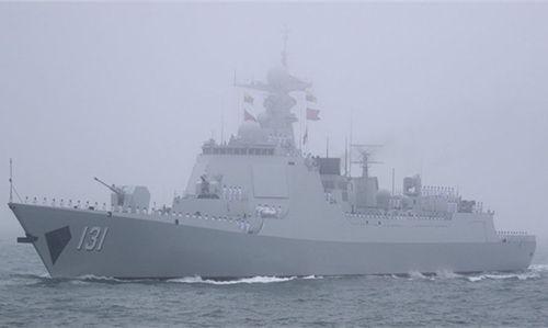 我军为何派052D舰赴日参加阅舰式:可正面直怼出云号
