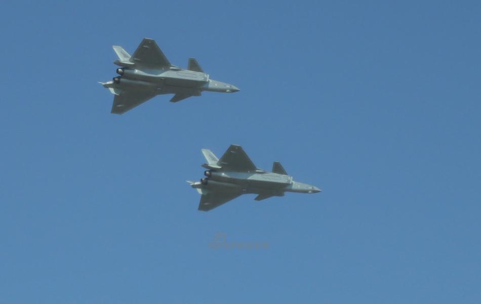 中国空军航空开放日 歼20等新型主力战机惊艳亮相