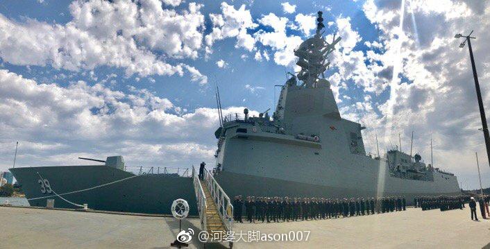 澳门永利:中国海军司令会见澳海军司令当面批澳军南海举动