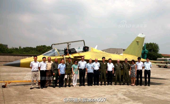 """回复:徐勇凌:中国飞行员需要""""猎鹰""""教练机 把滞后的10年补回来"""