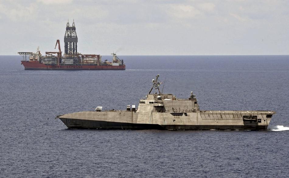 一周内两闯南海!美军战舰再次抵近争议海域挑衅