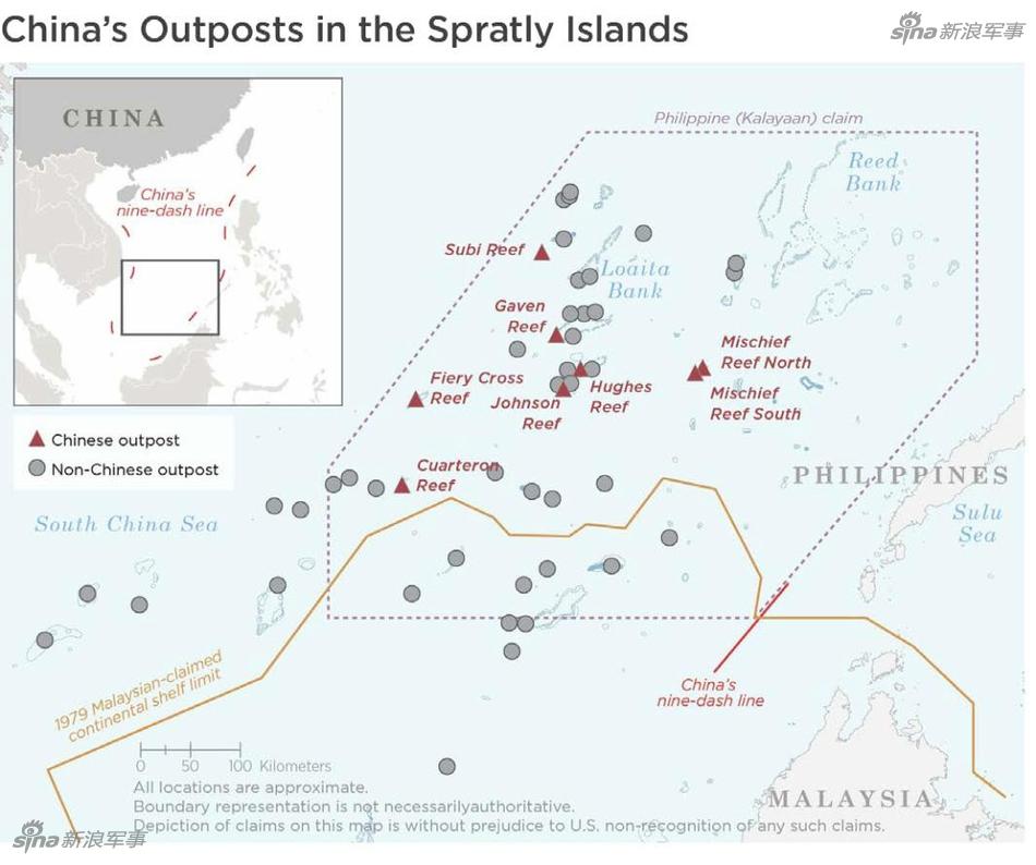 美军报告猜测中国军力:对我南海岛礁指指点点