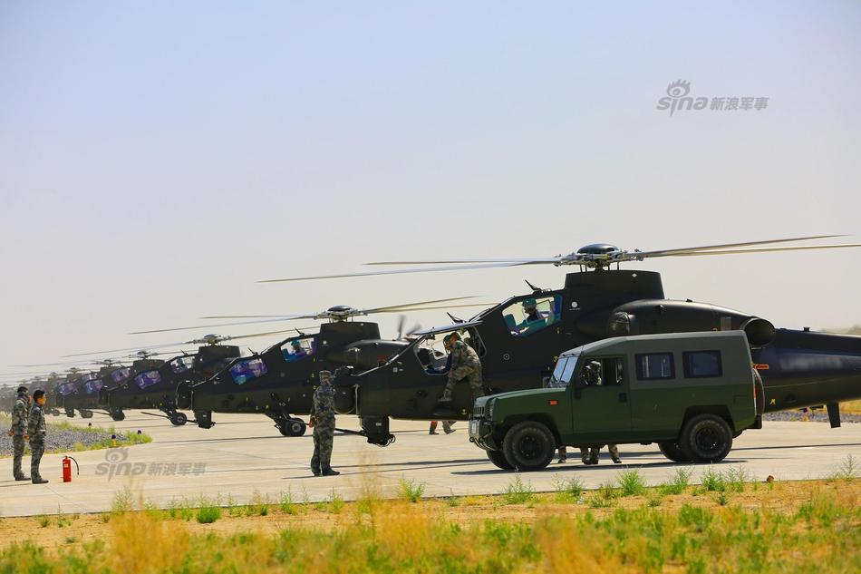中国计划最终让解放军陆军装备3000架现代化的直升机,而其中超过