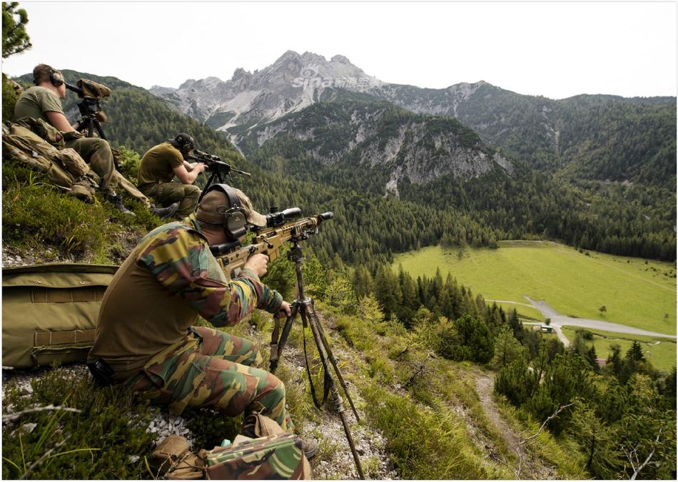 有点帅!北约多国狙击手云集奥地利集训
