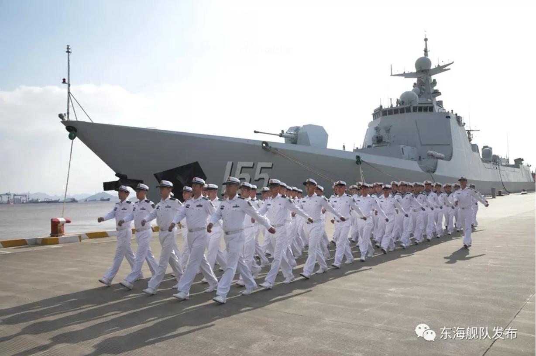 驰骋大洋叱咤一方!东海舰队052D南京舰时刻备战求胜