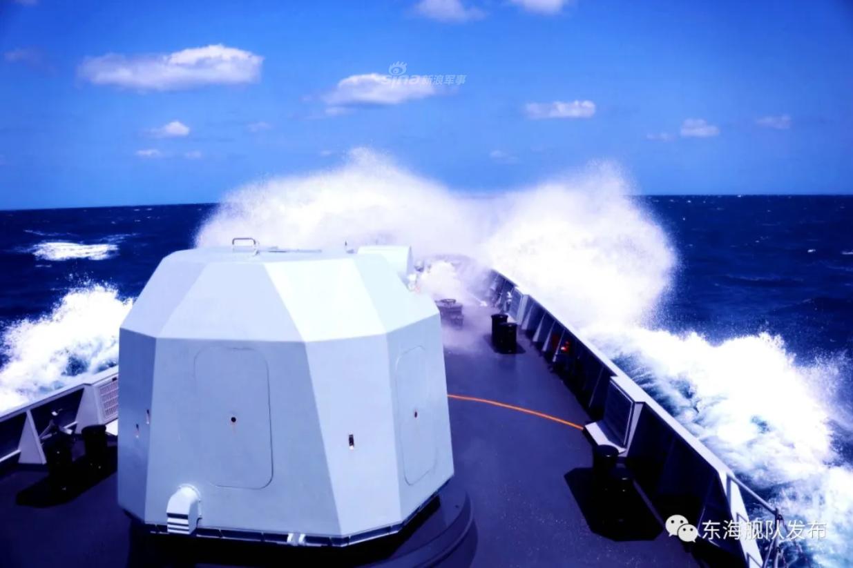 惊雷一声战斗响!东海舰队056多舰出海震撼练实战