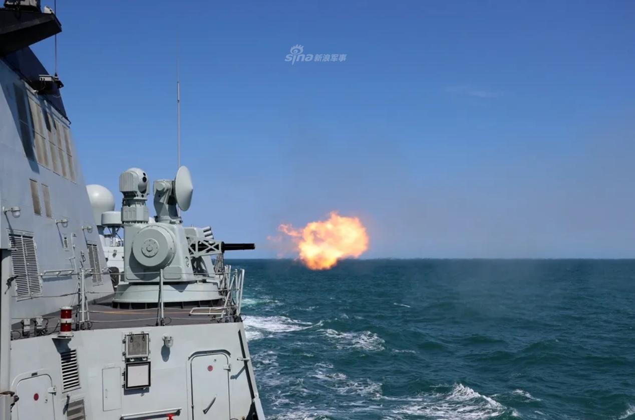 上阵亲兄弟!东海舰队052C率054A实兵海训鏖战大洋
