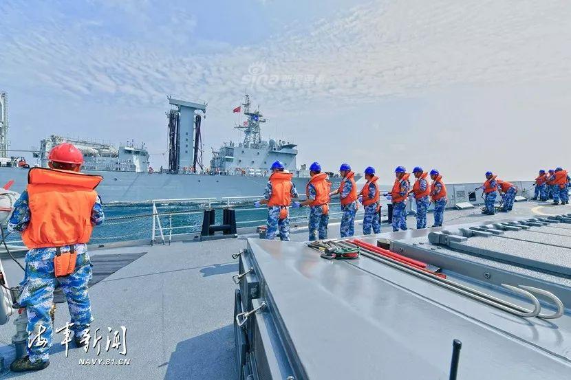 新青年火力全开!北海舰队054A舰黄海演武多炮狂射