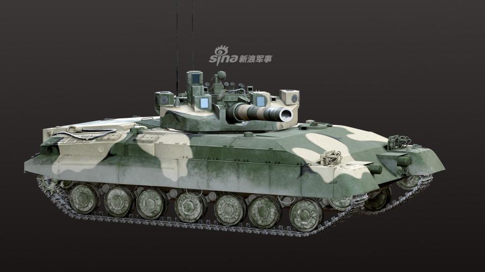 阿玛塔的灵感来源?网友CG复原前苏联无人炮塔坦克