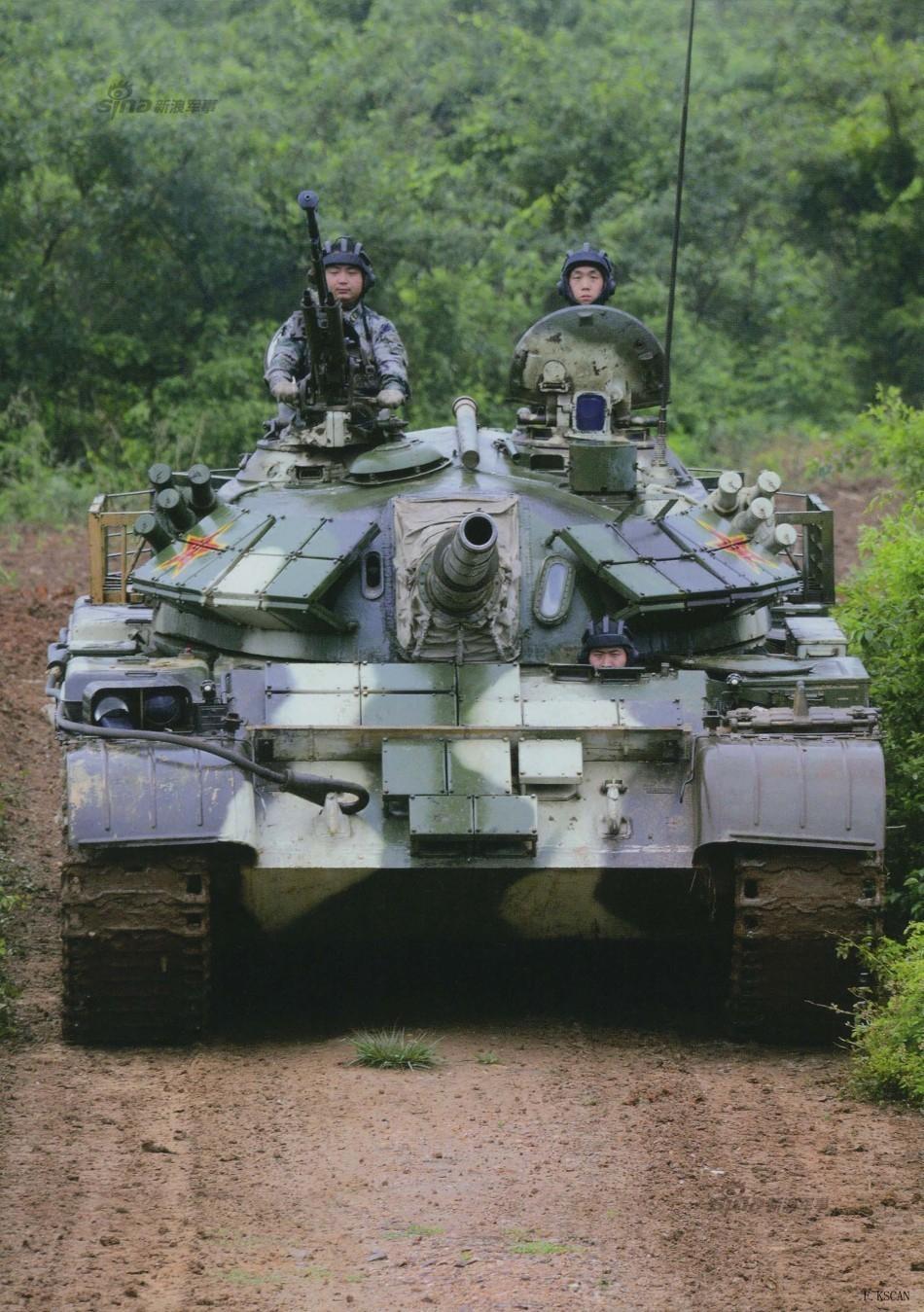 中国无人坦克亮相 百度热搜 图1