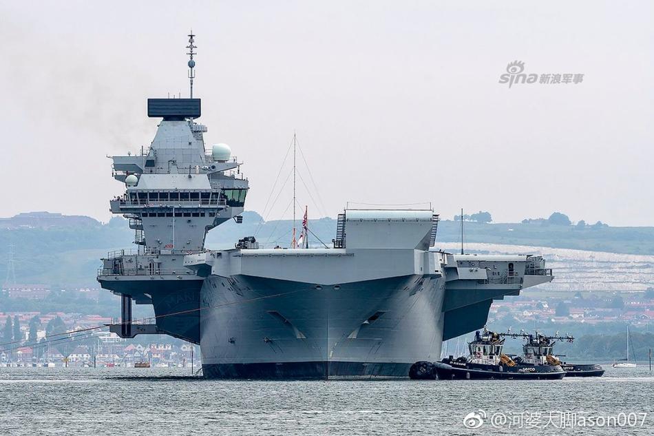 说好闯我南海的?英国海军女王号航母再度出海试航(图文)