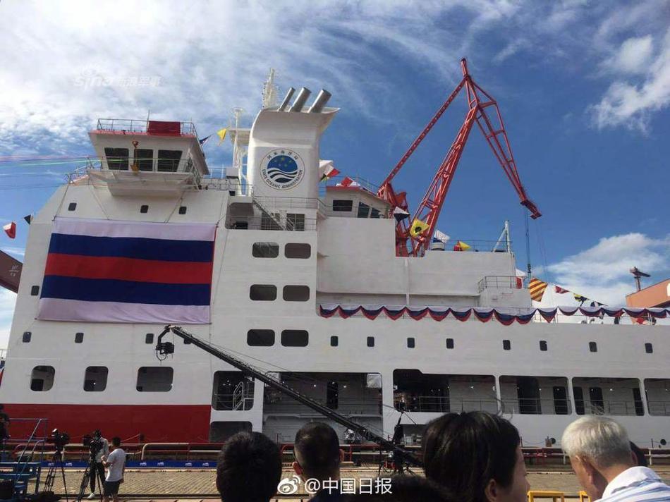 """中国雪龙破冰船未来或编队科考 采用""""航母编队""""模式"""