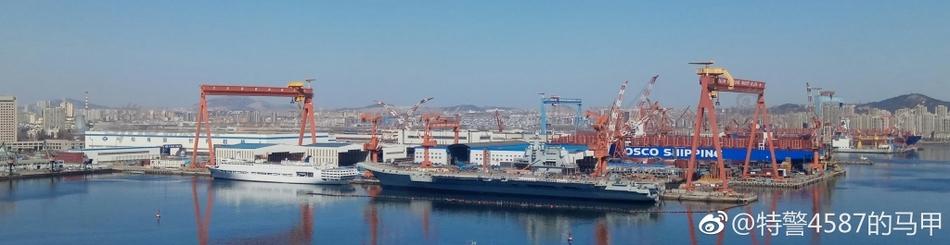 国产航母最新进展 首次试航时间或在海军建军节前夕