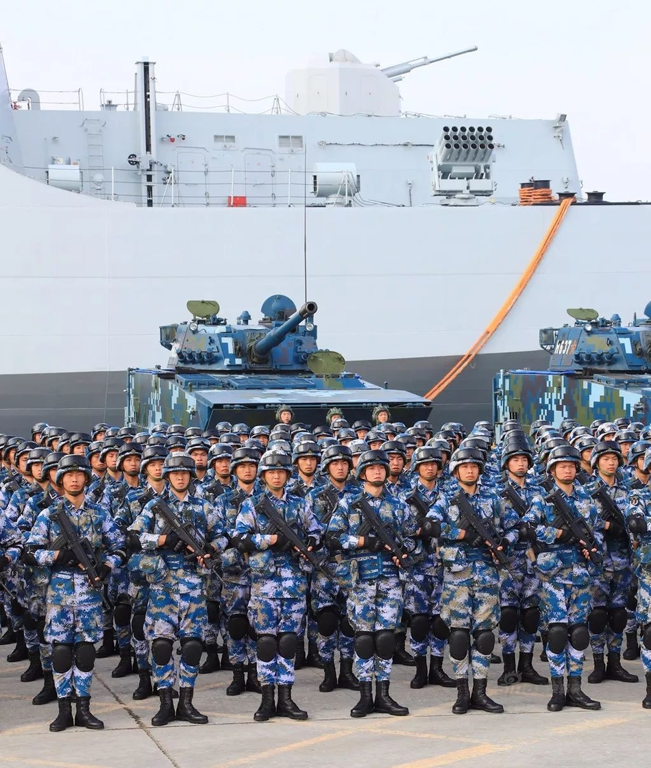 167深圳舰现身分会场 实战背景下中国海军开训