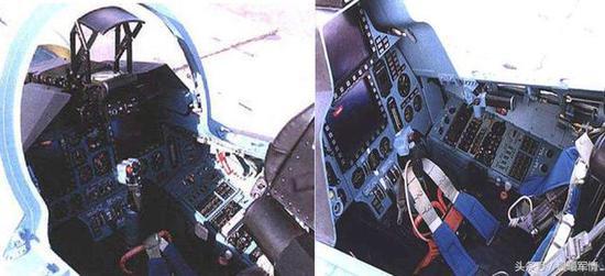 苏30MKK的座舱初步实现了玻璃化