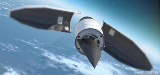 """中国在高超音速滑翔弹头领域(俗称""""水漂弹"""")领跑世界"""
