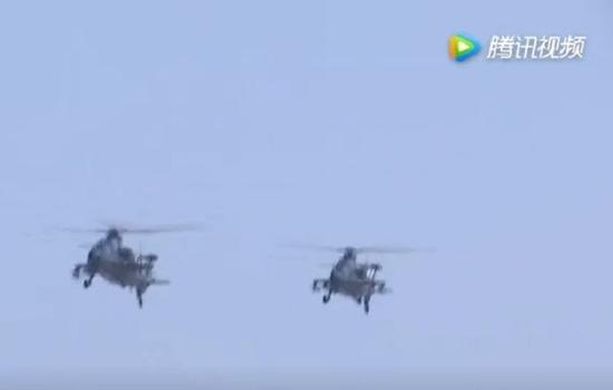 直-10在4000米高原执行训练任务
