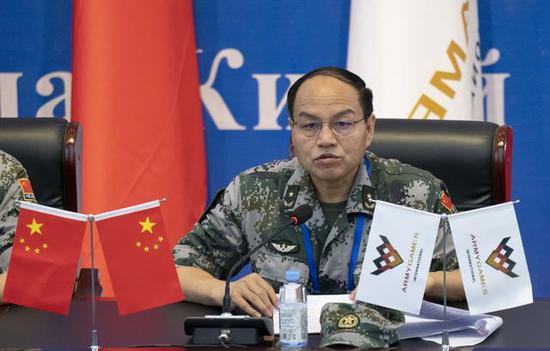 国际军事比赛-2019:中俄等12国陆军将竞技库尔勒