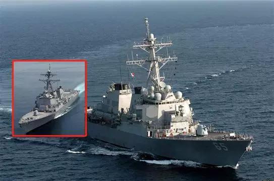 美国军舰本想悄悄过台湾海峡 无奈蔡英文太咋呼