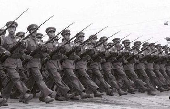50年代的解放军