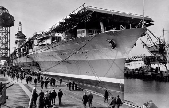 美军企能建造核航母驱逐舰 为何民船吨位远逊中国