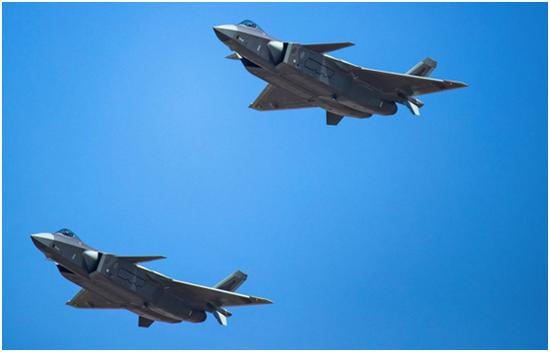 台媒:歼20进驻浙江衢州 15至20分钟可飞至台湾上空
