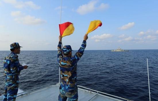越南与泰国海军举行联合巡逻 越军战舰随后访泰(图)sd敢达三国传漫画